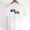 Fck Plstc Shirt weiß unisex - SHOP - kaufen - Mann Frau