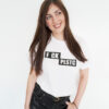 Fck Plstc Shirt weiß unisex Frau - nachhaltige Mode - fair fashion