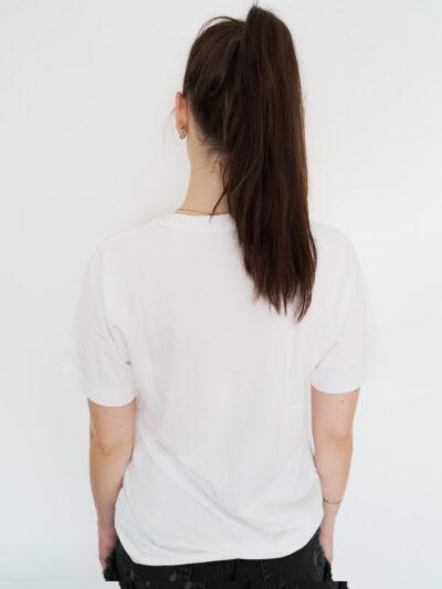 Fck Plstc Shirt in weiß unisex Frau - nachhaltige Mode - fair fashion
