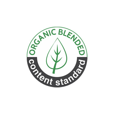 organic content standard logo